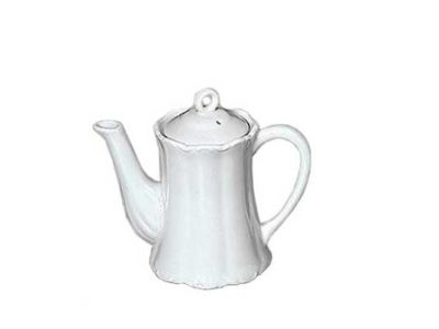 Child's White Teapot or One Cup Teapot