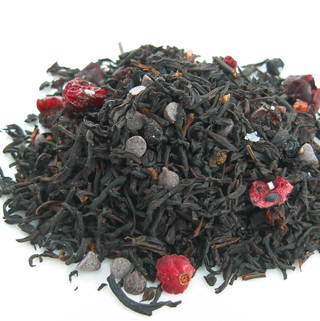 Chocolate Pomegranate Black Tea