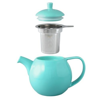 Curve Teapot and Infuser