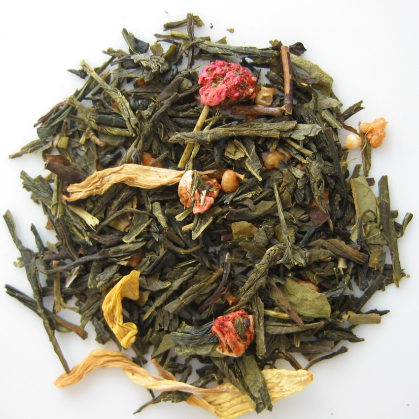 Strawberry Cream Green Tea