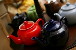 loose leaf teapot