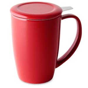 Curve Tall Tea Mug with Infuser