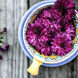Tea & Flowers
