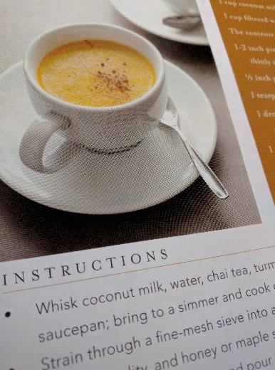 Golden Milk Chai recipe